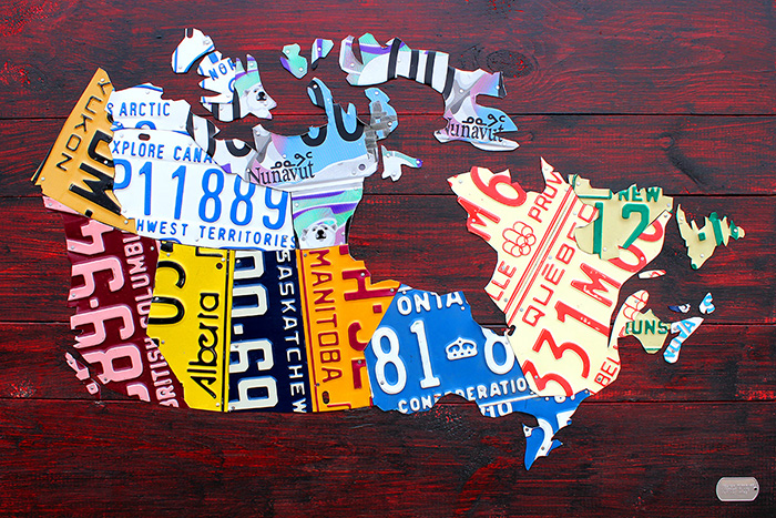 History Of License Plates - Us liscense plate map
