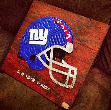 New York Giants Football Helmet