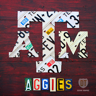 Texas A&M Aggies Logo Art